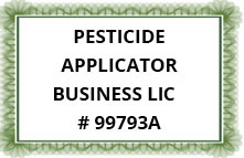 PESTICIDE APPLICATOR BUSINESS